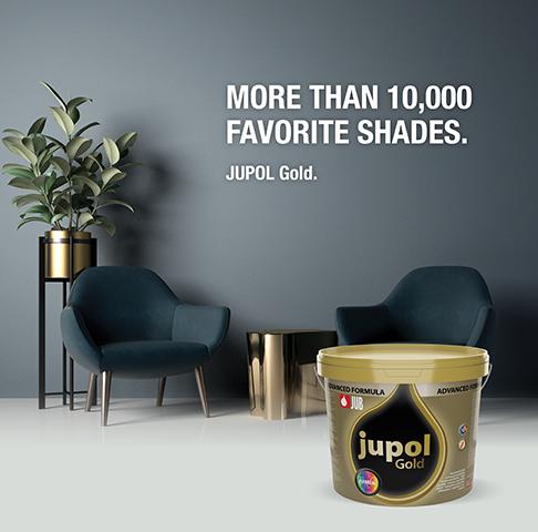 JUPOL Gold brez 50 let
